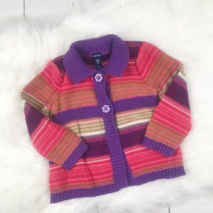 Old Navy Striped Cotton Sweater 18-24m.